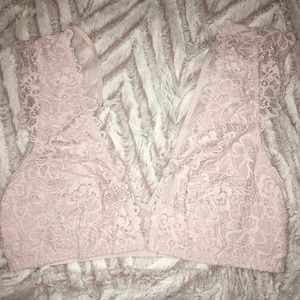 e30c5a66515 Victoria s Secret Intimates   Sleepwear - NWT DISCONTINUED VS floral lace  plunge bralette XS